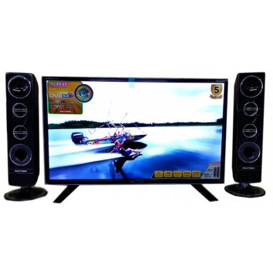 Polytron LED TV Digital 32 inch PLD-32TS1503/S + SPK T0932/S