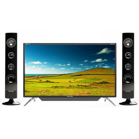 Polytron LED TV 40 inch PLD-40TS156 2 XBR Tower Speaker