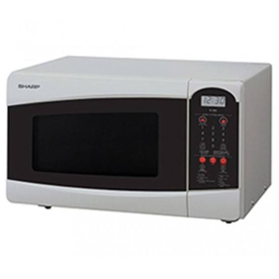 Sharp Microwave Compact Touch Control Low Wattage R 25C1 SN