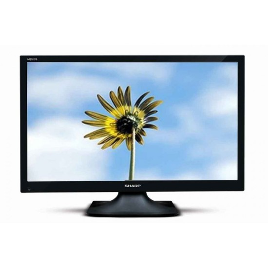 Sharp Aquos LED TV 24 Inch LC 24SA4000I Black