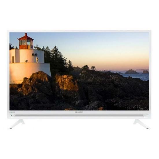 Sharp LED TV 32 Inch HD Ready LC-32SA4101I White