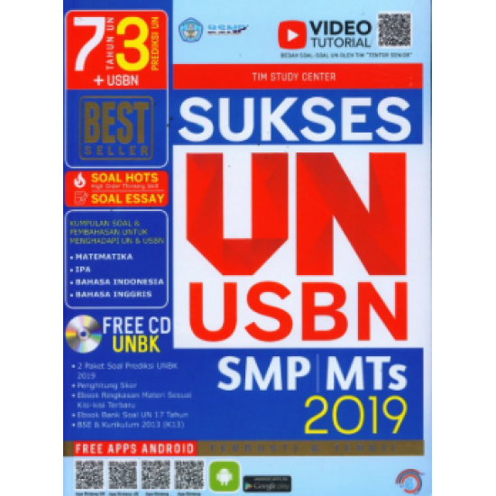 SUKSES UN USBN SMP/MTS 2019