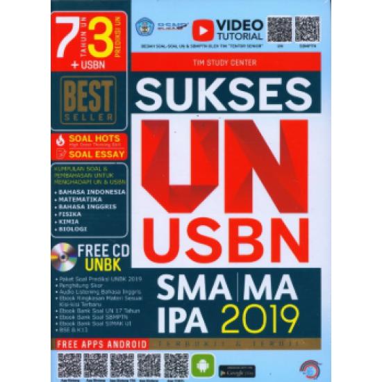 SUKSES UN USBN SMA/MA IPA 2019