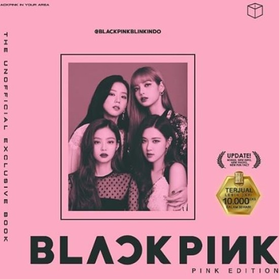 The Unofficial Exclusive Book BLACKPINK PINK Edition
