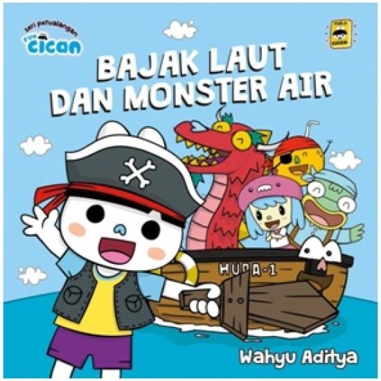 Seri Fun Cican Bajak Laut Dan Monster Air Board Book