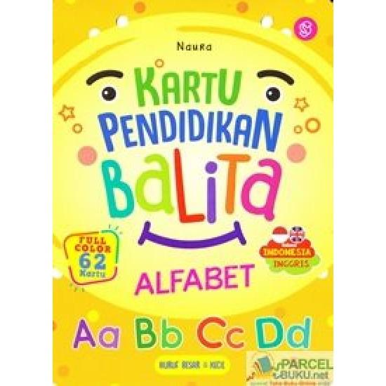 Kartu Pendidikan Balita Alfabet