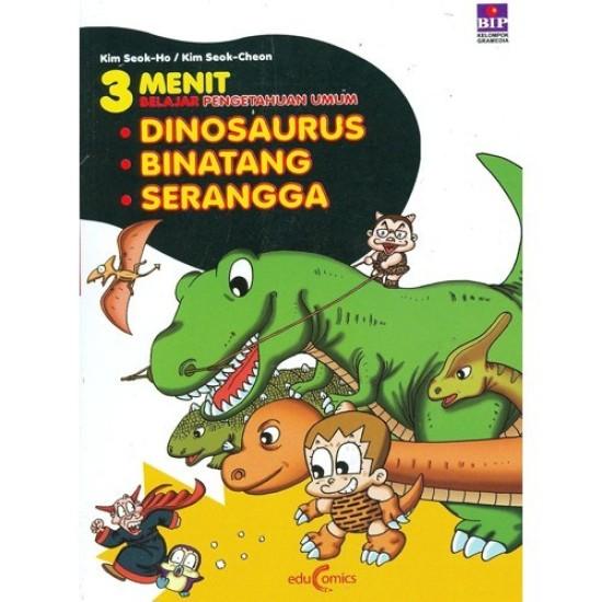 FP 3 Menit Belajar Pengetahuan Umum: Dinosaurus, Binatang & Serangga
