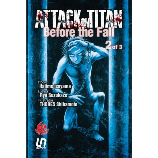 Attack On Titan Before The Fall 02 - Light Novel