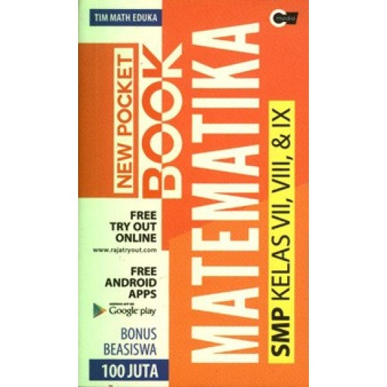 New Pocket Book Matematika SMP Kelas 7,8,9